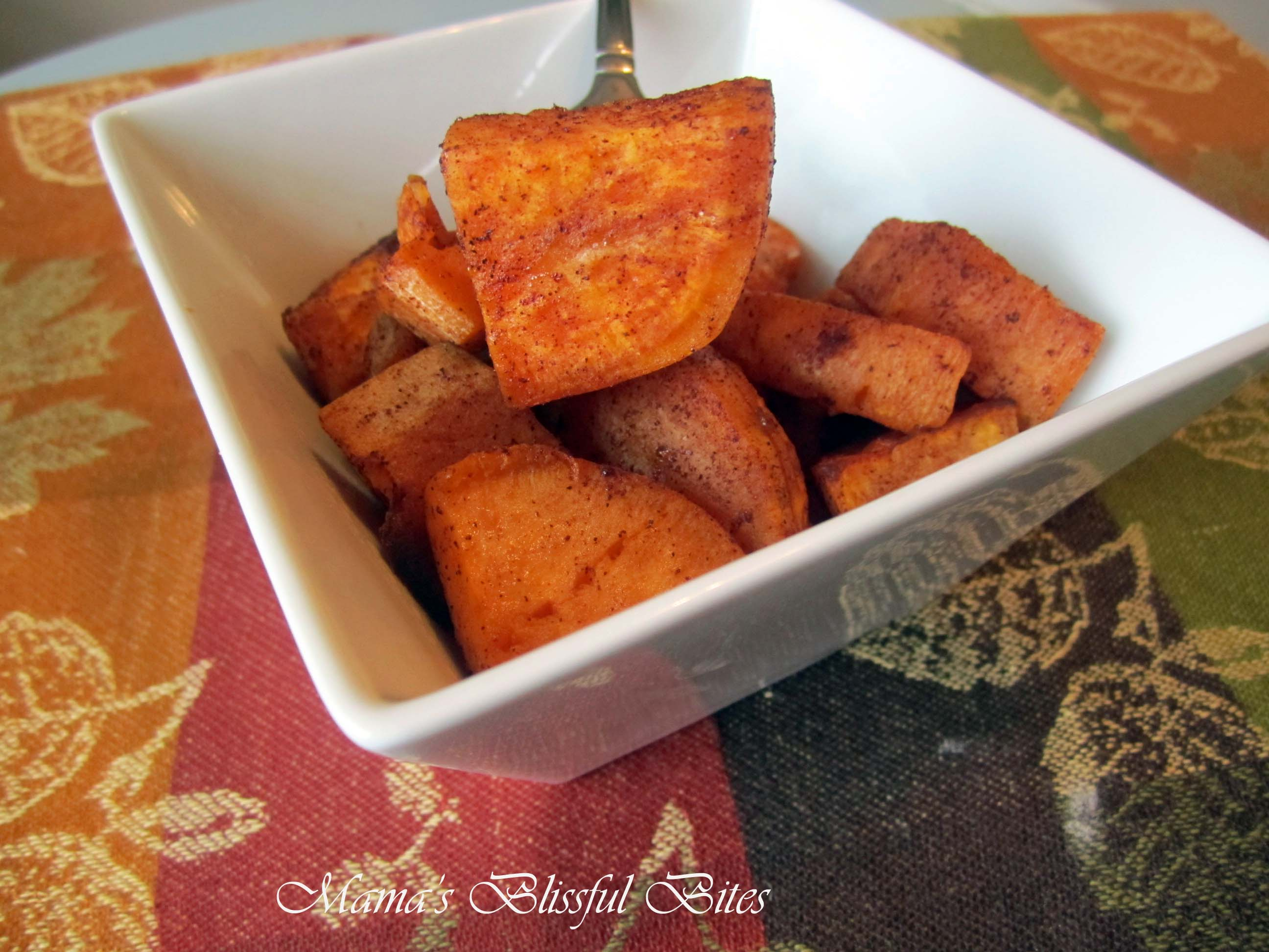 Sweet potato and cinnamon