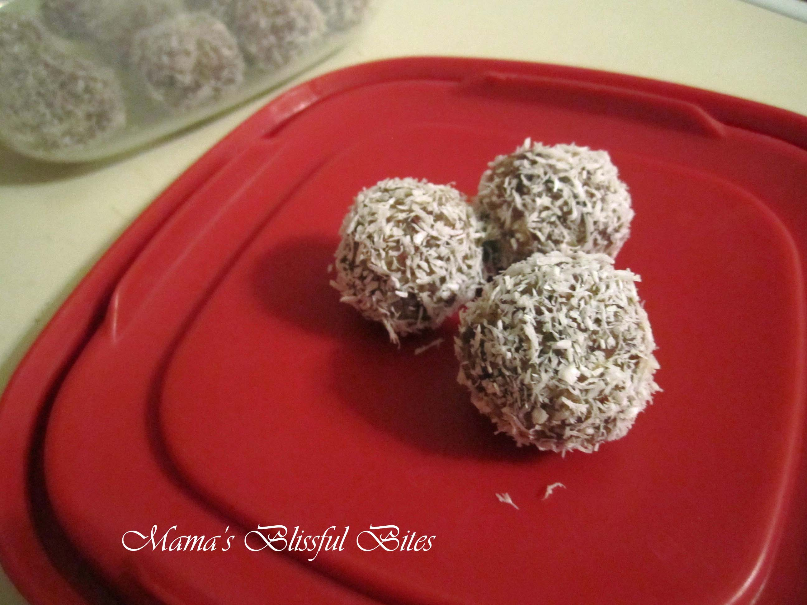 Coconut Almond Date Energy Balls