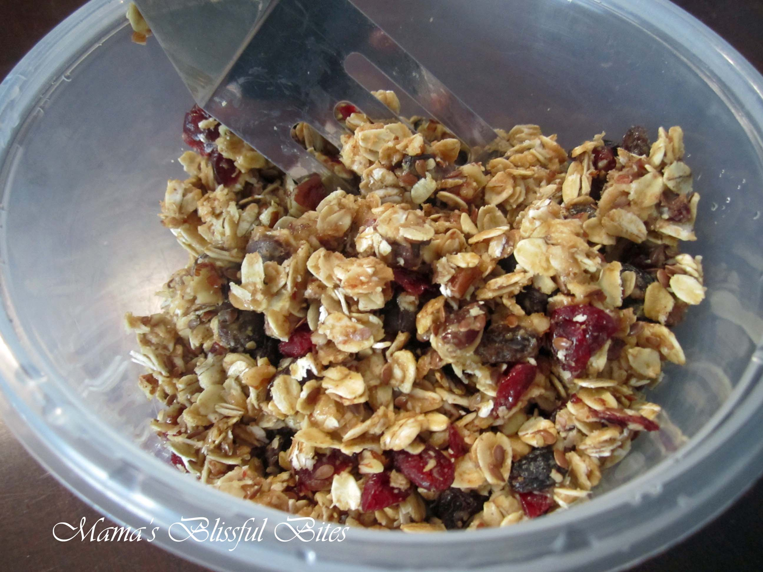 Sweet and Naught Granola
