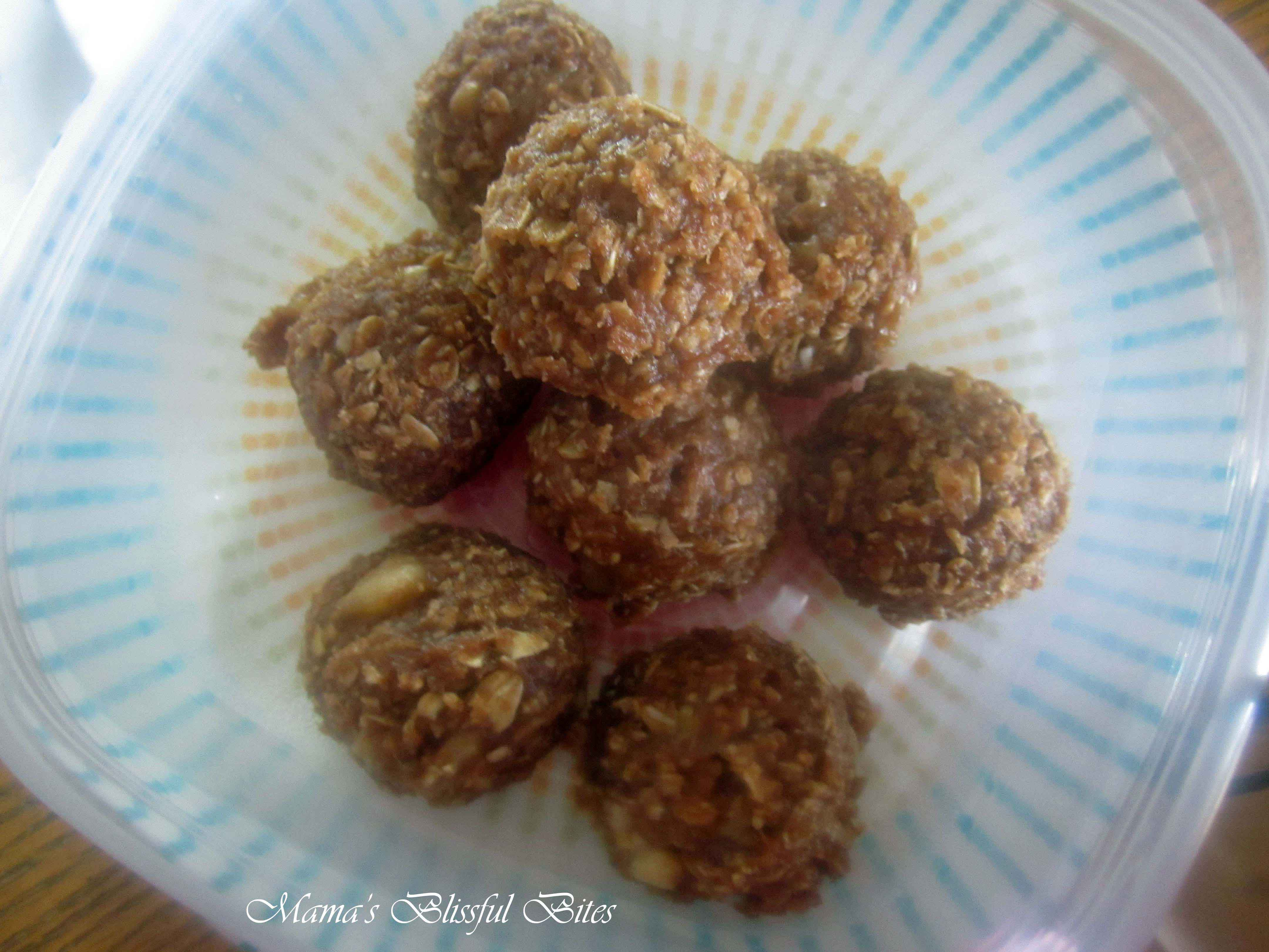 Chocolate Peanut Butter Banana Balls 4