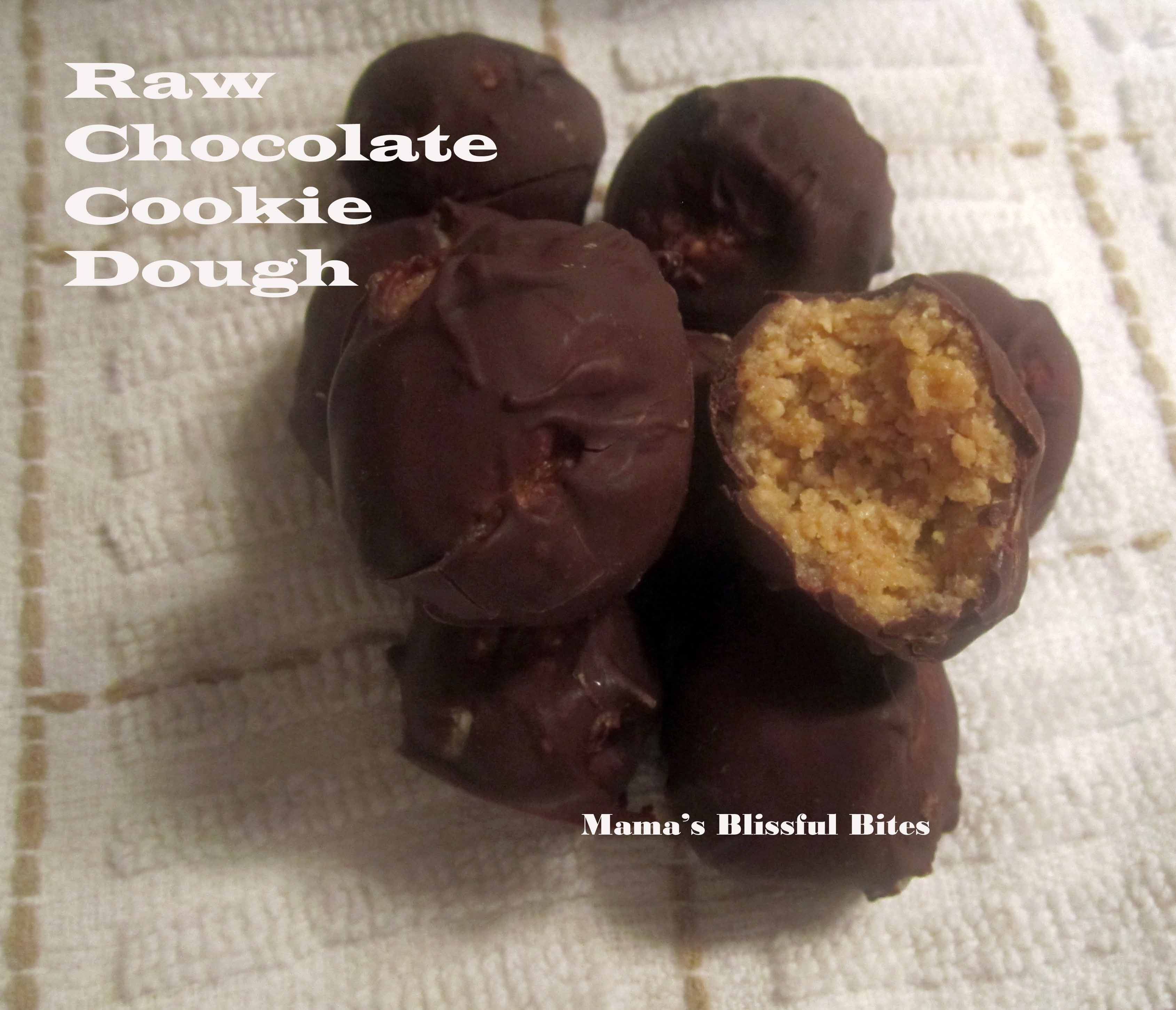 Raw Chocolate Cookie Dough