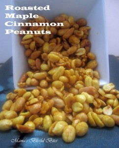 Roasted Maple-Cinnamon Peanuts