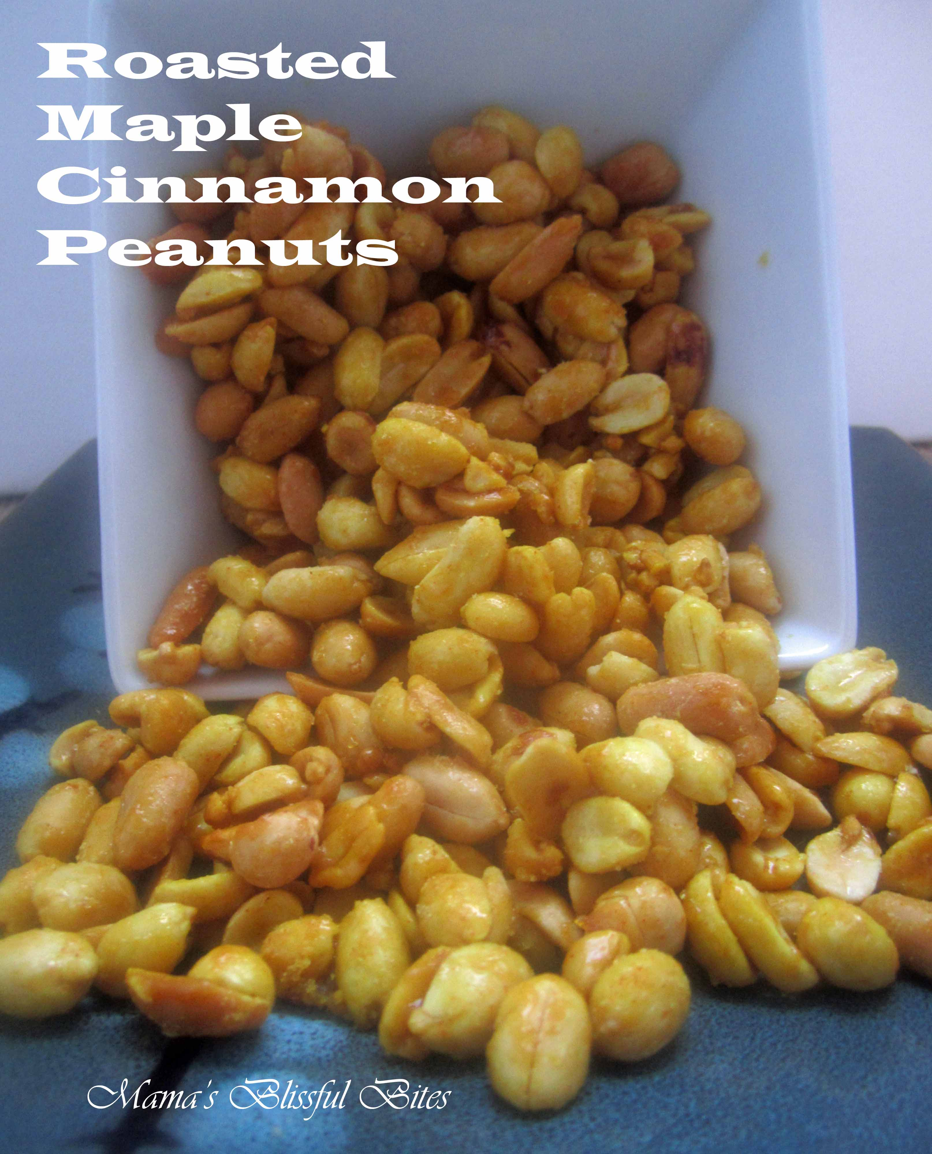 Roasted Maple Cinnamon Peanuts 3