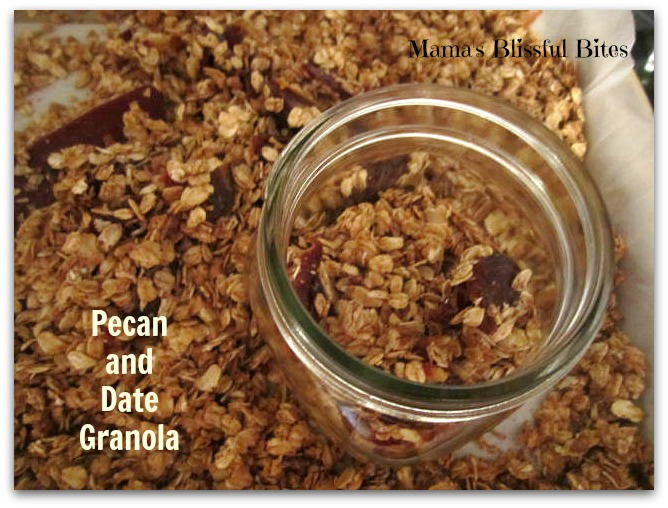 Pecan and Date Granola