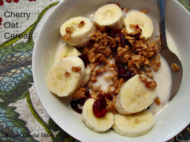 cherry oat cereal